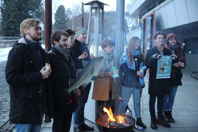 """""""Her star Lillehammer Natur og Ungdom i fyr of flamme imens de prøver å vende Oppland Ap"""""""