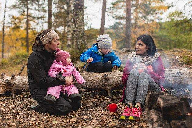 VIKTIG MØTEPLASS: I møte friluftsorganisasjoner får innvandrere en viktig sosial møteplass og en mulighet til å bidra med meningsfulle oppgaver.