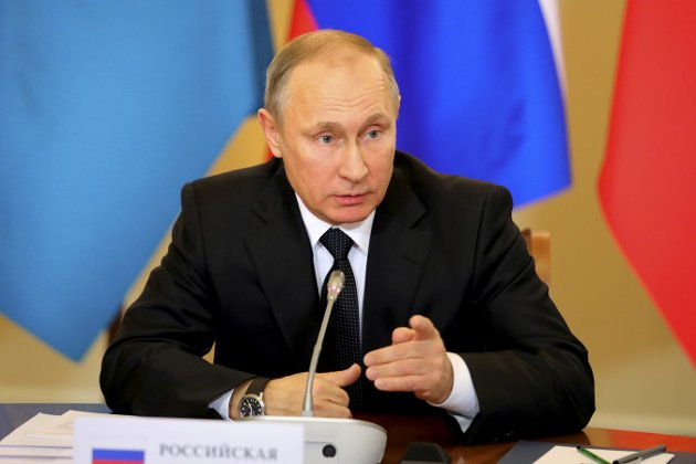 Arkivbilde: Putin