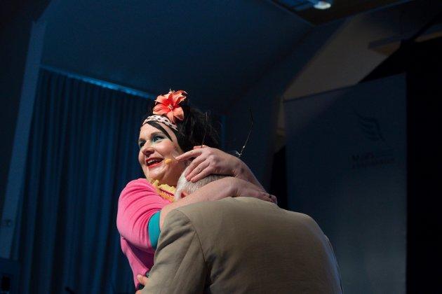 Kristine Koth holdt inspirasjonsforedrag på Mjøskonferansen 2015 Foto: Henning Gulbrandsen.