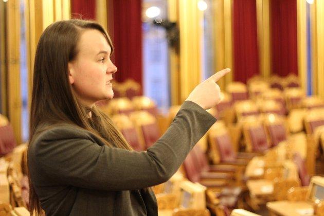 Marit K. Strand, stortingsrepresentant for Oppland Senterparti
