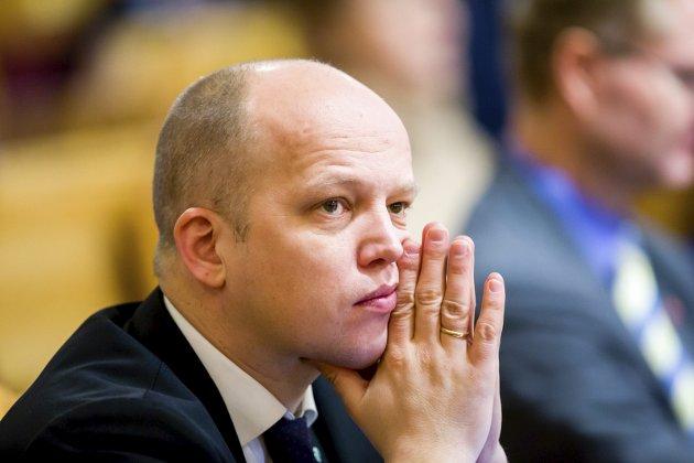 STORMER FRA: Det er ikke lenger usannsynlig at Trygve Slagsvold Vedum kan bli Norges neste statsminister. arkivbilde