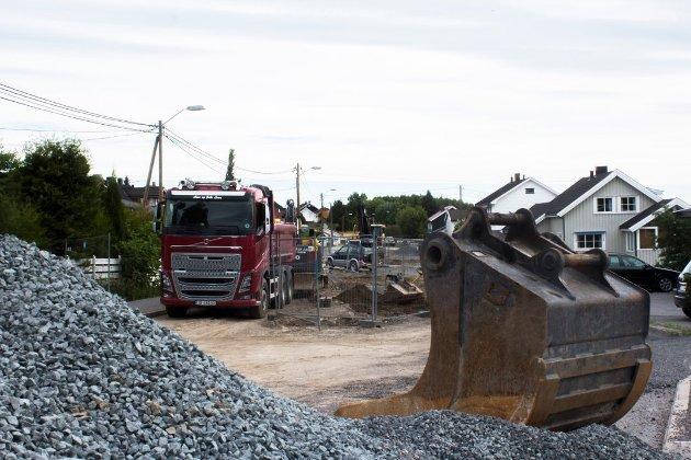 ILLUSTRASJONSBILDE: I lange perioder har trafikken gått i stadig nye ruter for å komme seg fra den ene siden av Gjøvik til den andre de siste åra. Foto: OA-arkiv