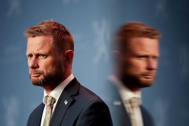 OPPRØR: Helse Sør-øst og statsråd Bent Høie har en stor jobb foran seg med å forankre prosessen og resultatet som skal munne ut i ny sykehusstruktur  Innlandet.