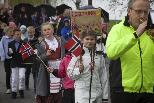 17. mai-feiringen for Kråkstad og Skotbu