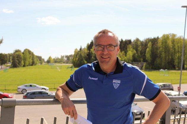 Daglig leder i Kolbotn IL Harald Vaadal Arkivfoto: Karin Hanstensen
