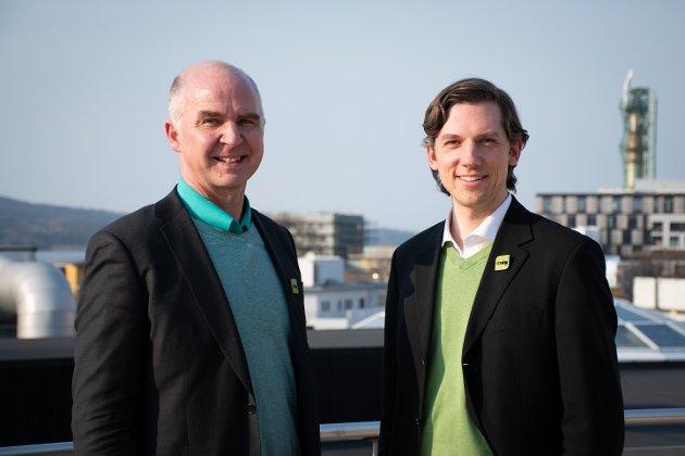 Øyvind Solum og Kristoffer Robin Haug, som i tillegg til å være fylkestingsrepresentanter for MDG i Viken også er stortingskandidater for Akershus, mener nasjonalpark i Østmarka er en god idé.