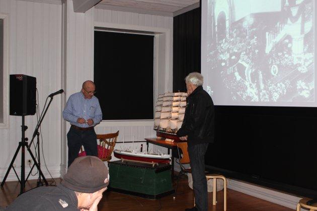 Foredrag om C.A. Larsens argentinske virksomhet på Sjøfartsmuseet.