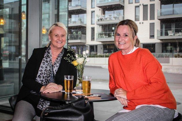 (F.v.) Ann-Kristin Skaret og Gro Anita Halvorsen.