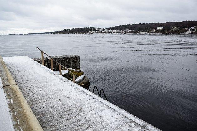 Bading vinter kaldt Eva Thrane Nielsen, Anne Lise Sandbrekkene, Anne Pindsle Opperud, Grete Faugstad Ekens.