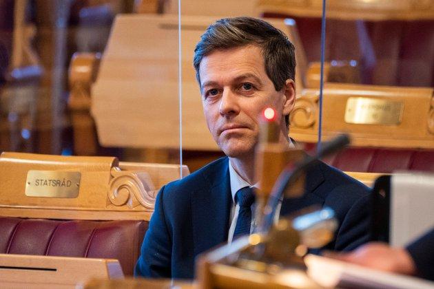 Samferdselsminister Knut Arild Hareide (Krf)