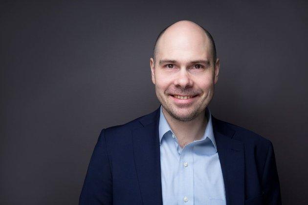 Anders Møller Opdahl, konsernsjef i Amedia