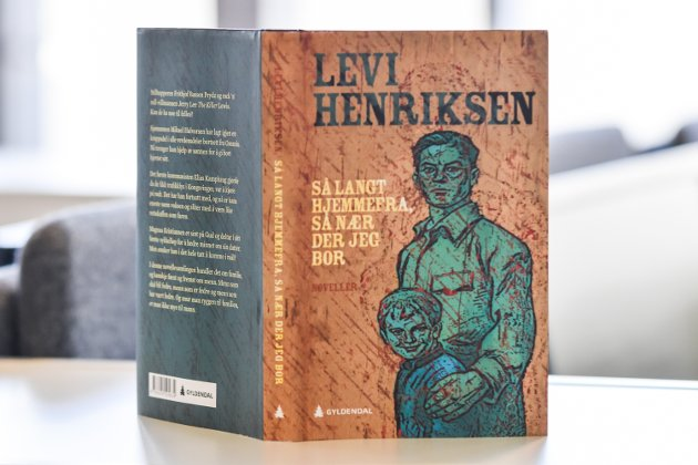 NOVELLER OM MENN: Levi Henriksen har skrevet ny novellesamling.