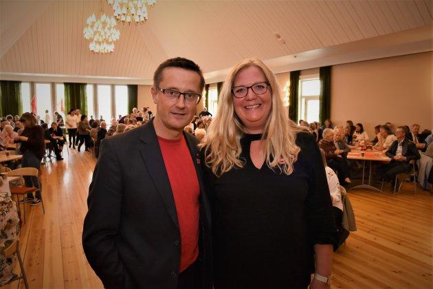 SNUDDE: Ap med Ingvar Midthun og Lillian Skjærvik i spissen, snudde i saken om eiendomsskatt Foto: Rune Hagen