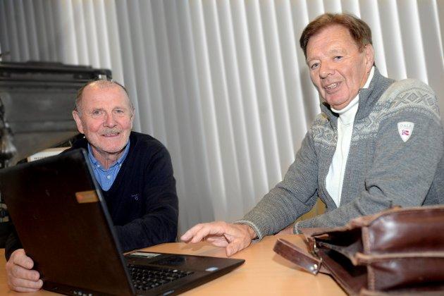 HAR SVAR: Øyvind Bæk (t.v.) og Sæmund Stenersen presenterer en ny teori på hva som skjedde 13. juli 1972 i Rendalen.