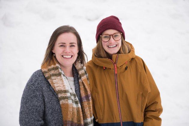 fv. Caroline Bergqvist og Linn Rundfloen