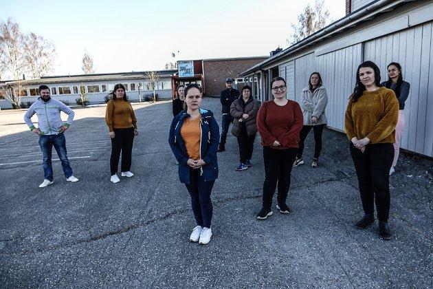 IKKE HØRT: Foreldre og grendefolk gjør opprør i Åsnes etter vedtaket om at to grendeskoler skal legges ned.