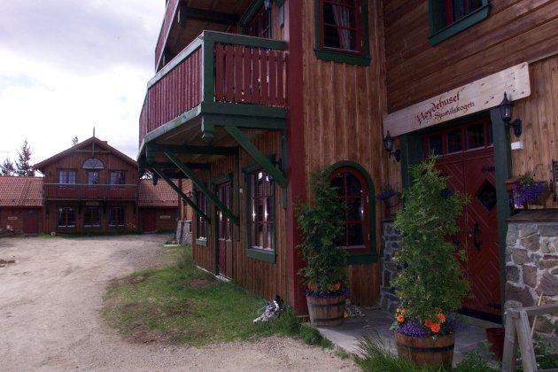 HØYDEHUS: Sjumilskogen i Trysil var det første høydehuset i Norge.