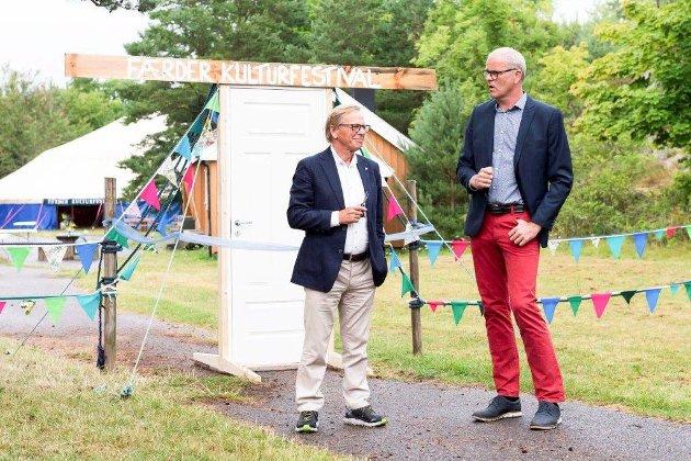 Roar Jonstang og Jon Sannes Andersen åpnet festivalen.