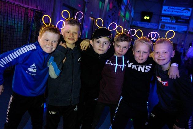Andreas Degnes (10), Vebjørn Finnestad (10), Magnus Levernes (10), Trym Johansen (10), Torvald Larsson (10), Theo Tjerbo (10).