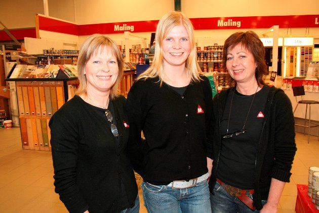 "Byggmakker ""Damenes Aften"". Fra venstre: Heidi Bjørnstad, Camilla Heier og Unni Grøtvedt i 2006."