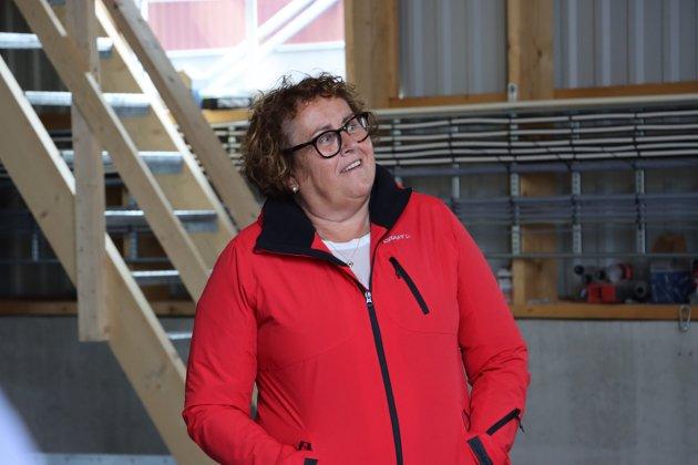 Landbruks- og matminister Olaug Bollestad (Krf) var i godt humør. Men bestemt når hun snakket om verdien av lokalprodusert mat, og at kommunene måtte unngå å bygge ned matjord.