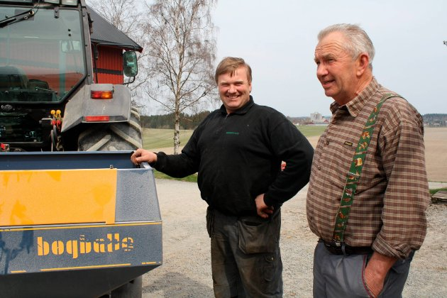 Våronn: Kjell Kopperud og Torgeir Steen i 2009.