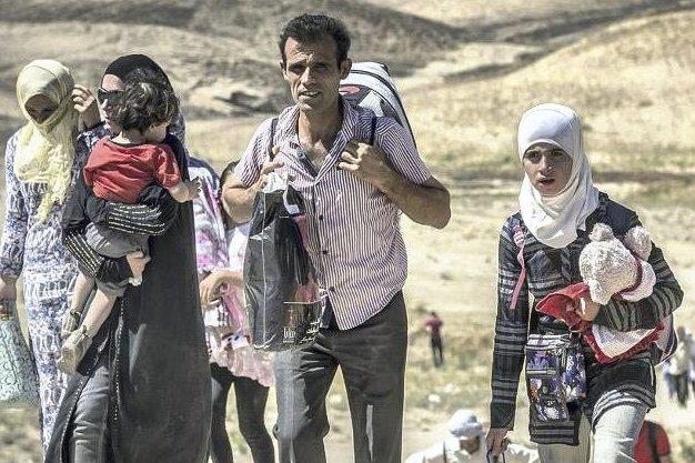 På flukt: De fleste som flykter fra krigen i Syria flykter fra de samme menneskene som vi også frykter, skriver Benjamin Slotterøy. Foto: Christian Jepsen, Flyktninghjelpen