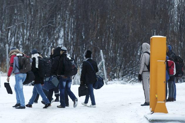 NØD: Det verste argumentet mot hjelp av mennesker som kommer til oss i nød, er at vi ikke har råd til det, skriver Eldbjørg Fagerjord. Foto: Tore Meek, NTB/SCANPIX