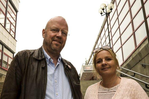 Kultursatsing: Geir Waage og Linda Veronika Eide i Arbeiderpartiet mener Høyres kulturpolitikk er utroverdig. Foto: Ida M. Hestman