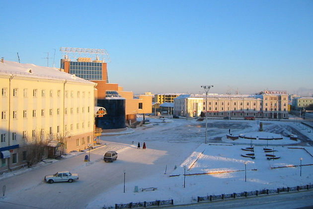Fra Jakutsk i Russland, som er verdens kaldeste by.