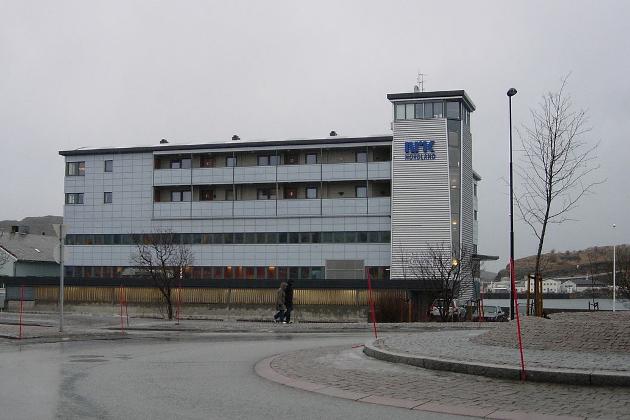 NRK er til stede i hele landet med regionale sendinger, noe journalisten av dagens Ke det går? setter stor pris på. Her er distriktskontoret i Bodø.