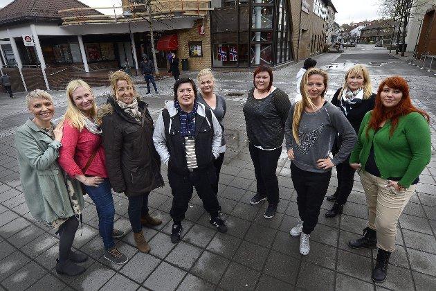 Starten: Jeg og mine venner ble inspirert til å gjøre noe. Dermed var Jenter i sentrum et faktum, skriver Wenche Bakken.Foto: Øyvind BRatt