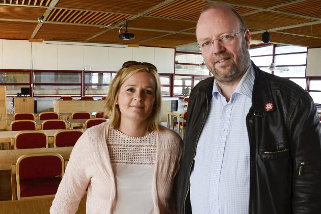 Linda Eide og Geir Waage.