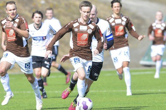 FÅR PRØVE SEG: Kim André Råde, Mo IL, har takket ja til å bli med Bodø/Glimt på neste ukes treningsleir på La Manga. Foto: Gøran O. Pedersen
