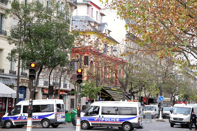 Fra terrorangrepet i Paris i november i fjor.