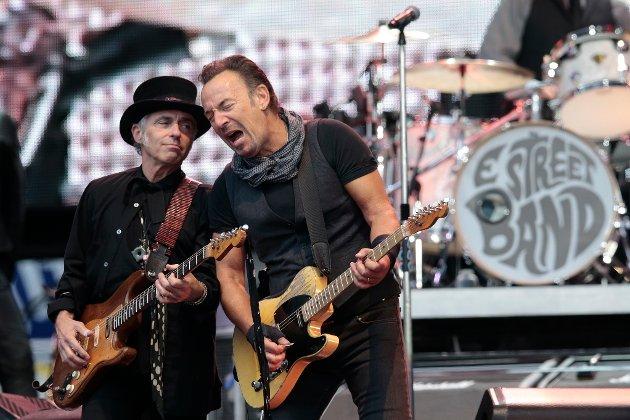 """Bruce """"The Boss"""" Springsteen holder fortsatt koken."""