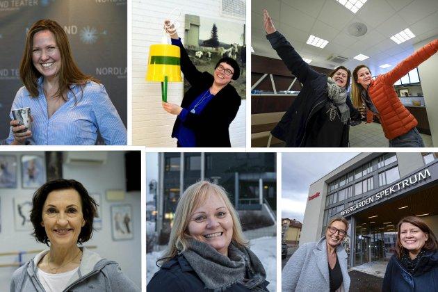 LEDERE: Kvinnelige ledere viser vei. Steinar Høgås mener det er viktig å ta i bruk hele befolkningens reser for å utvikle framtida.