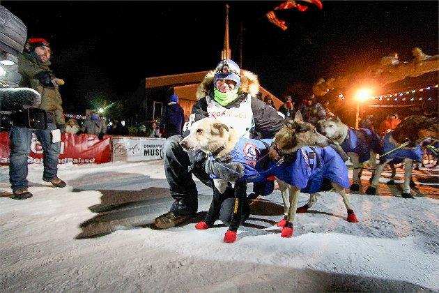 Joar Leifseth Ulsom, Iditarod 2017. Målgang i Nome på 4. plass.