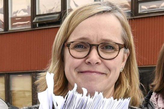 FAU-leder for Gruben ungdomsskole, Marit Osmo