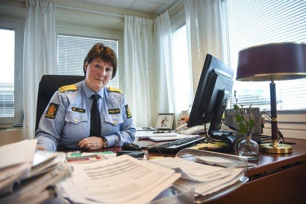 Politimester Tone Vangen.