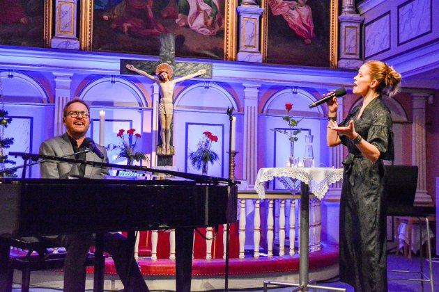 Sigvart Dagsland og Karoline Krüger imponerte under Mo kirkemusikkfestival.