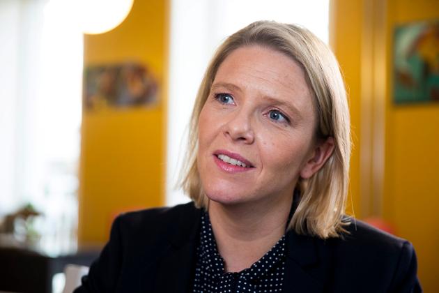 Sylvi Listhaug ble fredag utnevnt som statsråd.