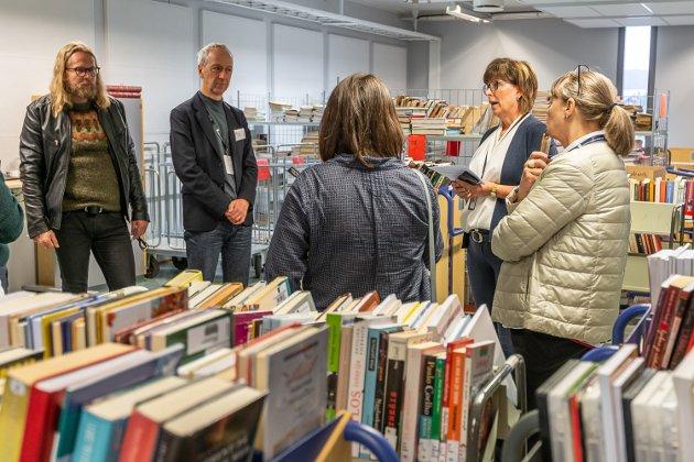 26 nasjonalbibliotekarer fra hele Europa besøker Nasjonalbiblioteket i Rana.
