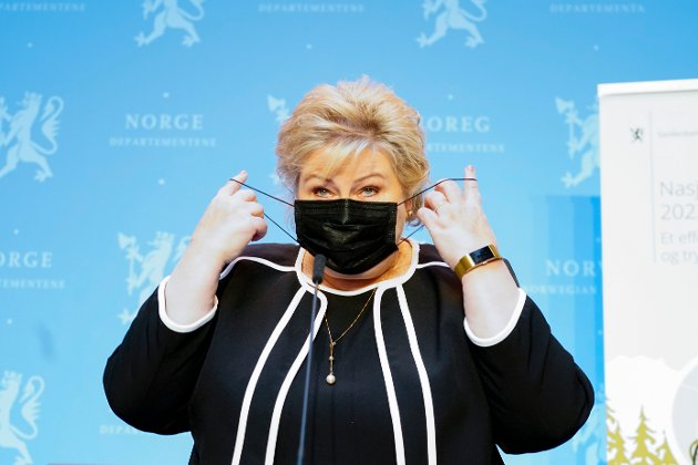 Statsminister Erna Solberg. Foto: Terje Pedersen / NTB