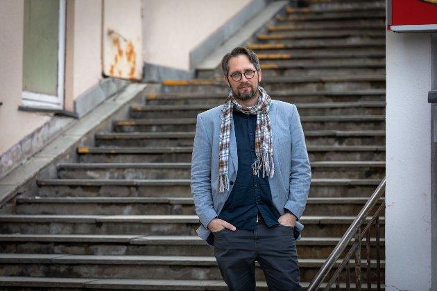 Stortingskandidat og fylkesleder for MDG Nordland, Thomas Johansen.