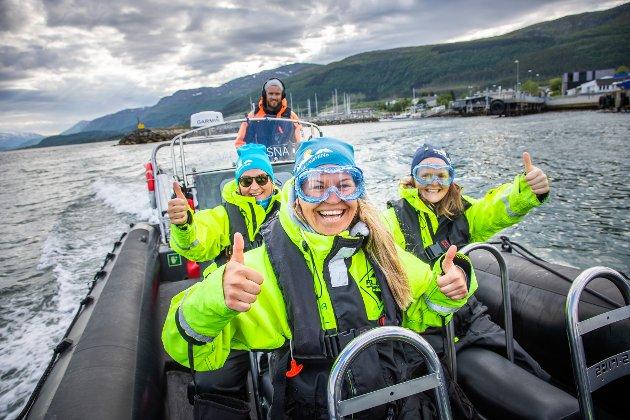 I sommer har Visit Nesna hatt stor pågang på havørnsafari med RIB.