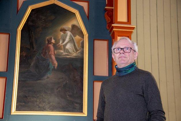 Prost Olav Rune Ertzeid i Nord-Helgeland er for tiden fungerende biskop i Sør-Hålogaland.