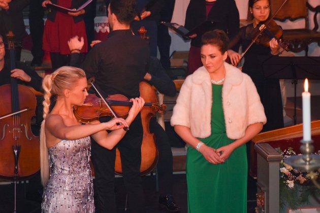 I fjor: Klassisk julekonsert med Mari Silje Samuelsen og sopran Sylvia Schwartz.