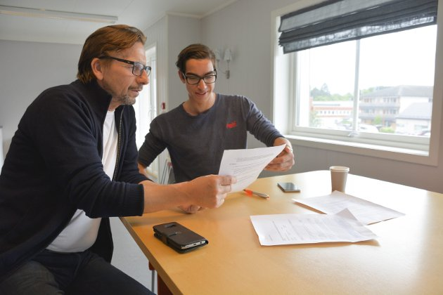 Hvem vinner: Det er flere jokere i kortstokken foran valget neste år. Kan Helge Vestheim og Thomas Skyberg i Ringsaklista påvirke politikken enda mer? Foto: Arkiv